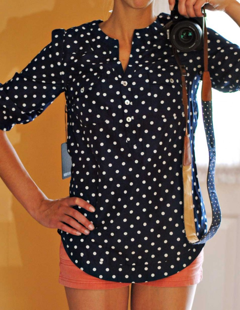 Find navy and white polka dot shirt at ShopStyle. Shop the latest collection of navy and white polka dot shirt from the most popular stores - all in.